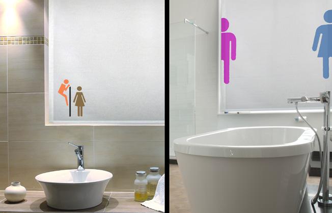 cortinas para baño la ventana de colores